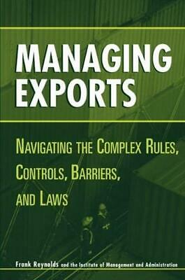 Managing Exports By Frank Reynolds • 90.03£