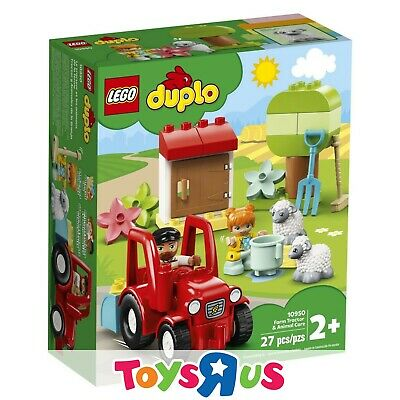 AU30.70 • Buy LEGO 10950 DUPLO Farm Tractor & Animal Care (BRAND NEW SEALED)