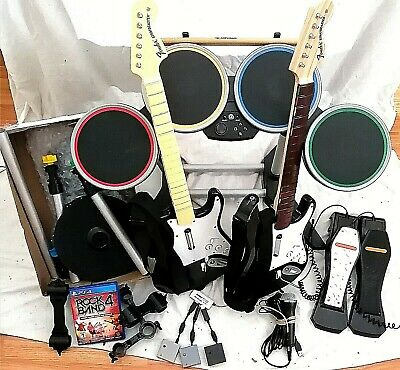 $ CDN750 • Buy Playstation Ps4 Rock Band 4 Drums Dongle 2x Pedals Guitars Dongles + Cymbals Pro