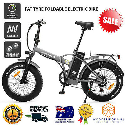 AU1057.88 • Buy 20  Fat Tyre Foldable Electric Bike Biking Cycling Outdoor Rechargeable Bicycles