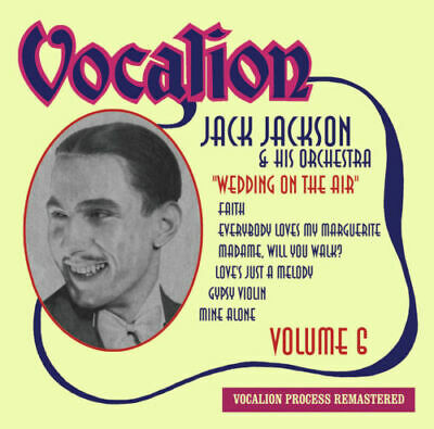 Jack Jackson & His Orchestra Volume 6 • Wedding On The Air - Like New • 6.95£