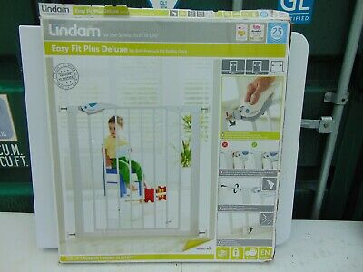£20 • Buy New Lindam Safety Gate Easy Fit Plus Deluxe  (Lot 1)