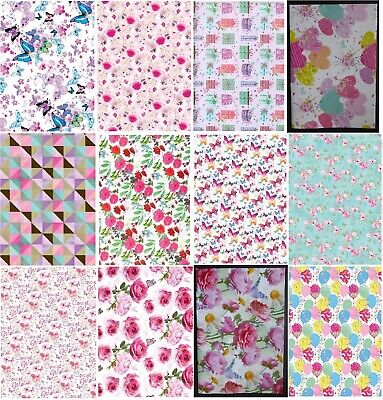 £2.49 • Buy FEMALE GIFT WRAP 2 Sheets Quality Wrapping Paper Choice Of Designs Simon Elvin