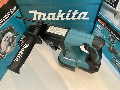 Makita DHR242Z 18V LXT Li-ion Brushless Rotary Hammer SDS + Drill (Body Only) • 119.99£