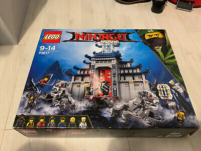 Lego Ninjago 70617 Temple Of The Ultimate Ultimate Weapon - Retired Set! Boxed! • 4.60£
