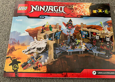 Lego Ninjago (70596) Samurai X Cave Chaos - Very Rare And Retired Set - Complete • 31£