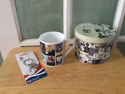 ROYAL DOULTON London 2012 Commemorative Mug In Tin & Team GB Keyring BNWT • 6.80£