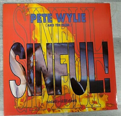 £3.99 • Buy Pete Wylie & The Farm - Sinful UK 12  1991 - Synth Pop Terry Farley Remixes
