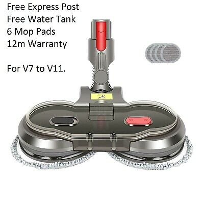 AU75.95 • Buy New Electric Motorised Mop For Dyson V7 V8 V10 V11 Cordless Vacuum Cleaners