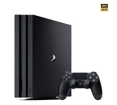 AU499 • Buy PlayStation 4 Pro 1TB Sony Black Console PS4 HDMI Brand New EXPRESS POST