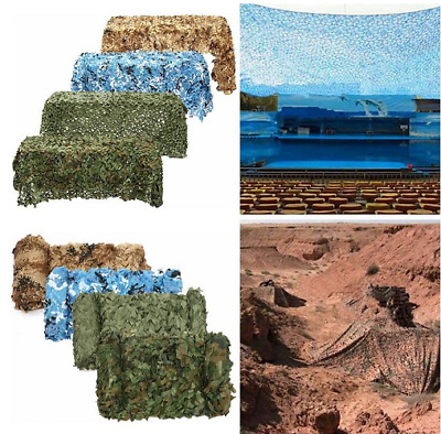 £3.46 • Buy UK Large Army Camouflage Net Camo Netting Camping Shooting Hunting Hide Woodland