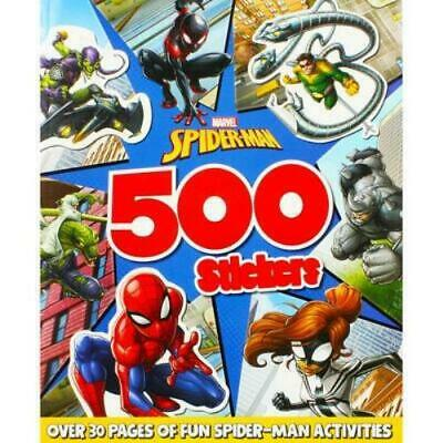 £3.99 • Buy Marvel Spiderman 500 Stickers Activity Book Children's Colouring Book NEW
