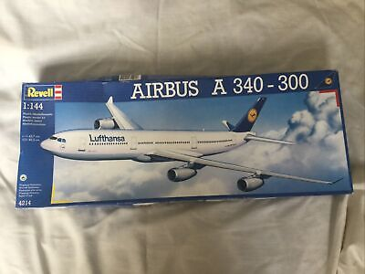 Revell 1/144 Airbus A340 - 300 Model Kit Complete • 75£