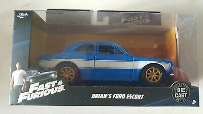 Fast And Furious Brians Ford Escort 1:32 Scale Jada 97188 Brand New • 9.99£