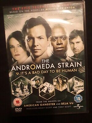 The Andromeda Strain - The Mini-Series - Complete (DVD, 2008, 2-Disc Set) • 0.60£