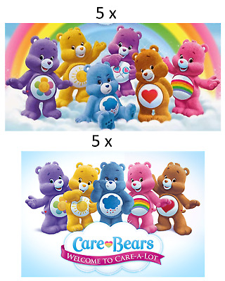 £2.35 • Buy 10 Care Bears Glossy Stickers, Party Favors