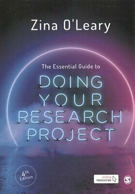£25.64 • Buy The Essential Guide To Doing Your Research Project By Zina O'Leary 9781529713466