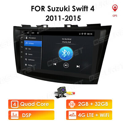 AU267.89 • Buy For Suzuki Swift 4 2011-2015 Car GPS Wifi 4GLTE Radio Stereo Android 10 DSP SWC