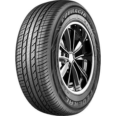 $238.99 • Buy 2 New Federal Couragia XUV 255/65R16 109H A/S All Season Tires