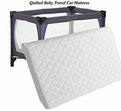 £16.20 • Buy Travel Cot Mattress For Graco,  Redkite And Mamas & Papas 95 X 65 X 5 Cm