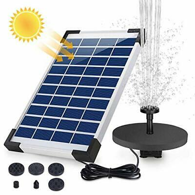 £24.99 • Buy Solar Powered Water Fountain - Floating Fountain With Backup Battery