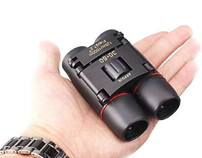 £13.33 • Buy 30x60 Compact Small Binoculars Powerful Folding Telescope With Clean Cloth And