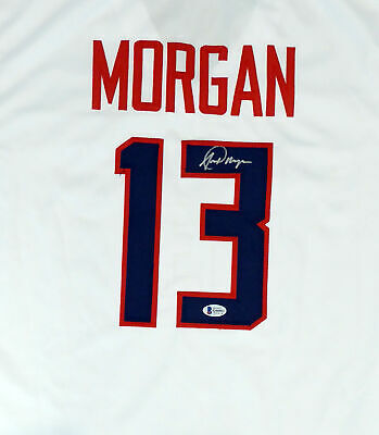 £144.52 • Buy Team Usa Alex Morgan Authentic Autographed Signed White Jersey Beckett 154486