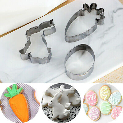 £5.13 • Buy Easter Cookies Cutter Biscuit Mould Cake Mold Baking Pastry Tool Stainless Steel