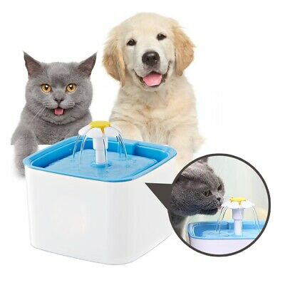 £15.03 • Buy Pet Dog Cat Automatic Water Fountain Kitty Puppy Fresh Drink Tools Playing 2.5L1
