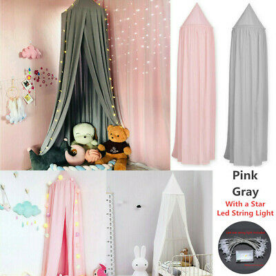 £23.76 • Buy Kids Baby Bed Canopy Bedcover Mosquito Net Princess Curtain Bedding Dome Tent