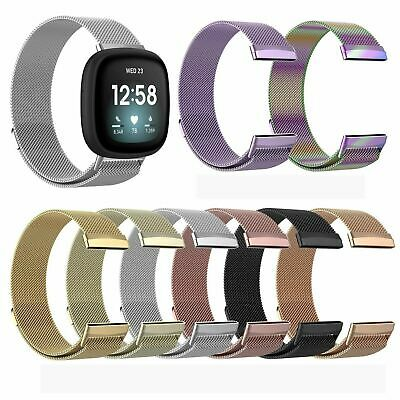 $ CDN13.66 • Buy For Fitbit Versa 3 / Sense Strap Milanese Wrist Band Stainless Steel Magnetic