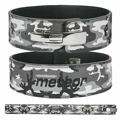 £24.95 • Buy Weight Power Lifting Leather Lever Pro Belt Gym Training Powerlifting Camo