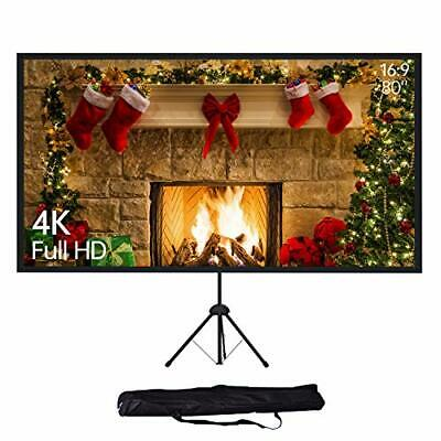 AU200.43 • Buy NEUE DAWN Projector Screen With Tripod For Home Cinema And Office | 4K HD | 80