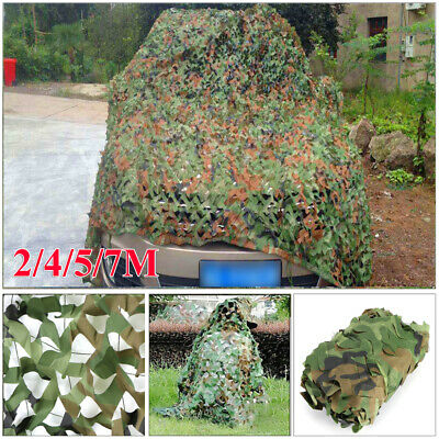 £11.99 • Buy Army Camouflage Net Camo Netting Camping Shooting Hunting Hide Woodland Game Net