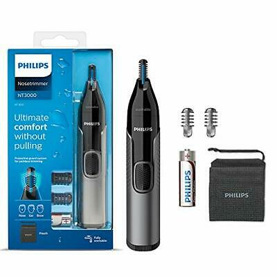 AU31.81 • Buy Philips Nose Hair Trimmer, Series 3000 Nose, Ear And Eyebrow Trimmer Showerproof