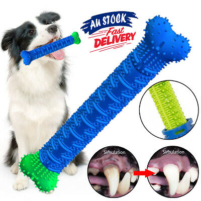 AU11.54 • Buy Toothbrush Cleaning Clean Toys Dog Brushing Mouth Chew Teeth Pet Molar Stick