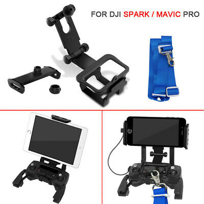 AU25.89 • Buy 4.6''-12  Phone Tablet Bracket Holder Mount For DJI Mavic Pro Air Spark Drone RC