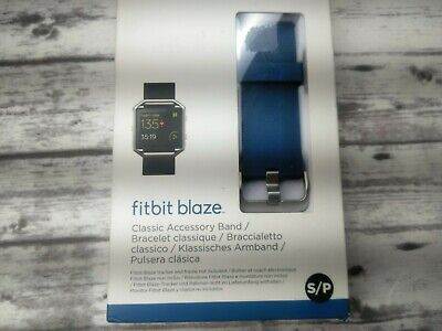 $ CDN24.18 • Buy Fitbit Blaze Band /Blue Colorway Sz Small