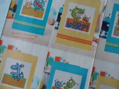 £1.50 • Buy Cross Stitch CHARTS - Crazy Critters Manic Monsters Cards