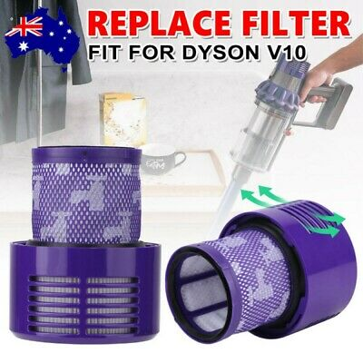 AU15.99 • Buy 2XGenuine For DYSON Filter V10 Cyclone Animal Absolute Total Clean Washable SV12