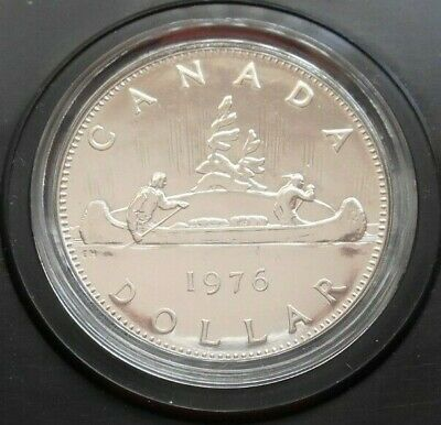 1976 Canada Proof Voyager Dollar, In Original Presentation Case • 6.99£