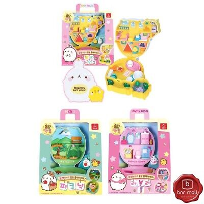AU88.86 • Buy Molang Petite House Toys Sets With Accessories Figures 3 Themes 5 Year Old +