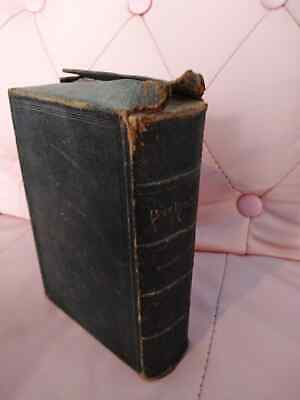 £15 • Buy Holy Bible Teachers Edition Eyre & Spottiswoode 1880s Box Bound