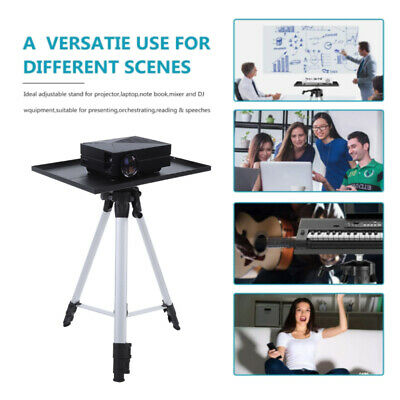 AU39.99 • Buy Projector Tripod Stand Aluminium Adjustable For Laptop W/Tray 53-136cm Height D