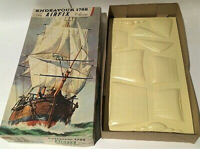 £8.95 • Buy Airfix Classic Ships Endeavour 1768 UNUSED SAIL ONLY For SPARE PARTS