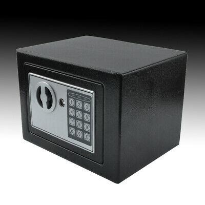Electronic Password Security Safe Money Cash Deposit Box Office Home  4.6L • 18.99£