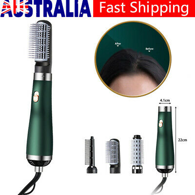 AU27.99 • Buy 3 In1 Power Hair Curling Dryer Brush Hot Air Comb Roller Styling Styler Salon AU