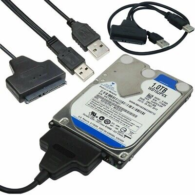 AU5.29 • Buy USB 2.0 To IDE SATA Converter Adapter Cable For 2.5 3.5 Hard Drive Disk