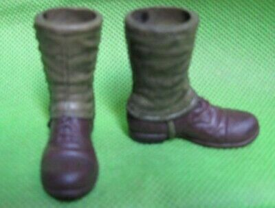 $8.99 • Buy 1/6th WWII Soldier Accessories Long-tube Military Boots Model For 12  Doll