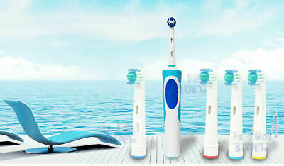 AU4.25 • Buy 4x Replacement Toothbrush Heads Electric Brush For Oral B Braun Models Series AU